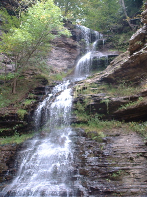 Waterfall somewhere in West Virginia